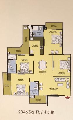 Proview Delhi 99, Ghaziabad - Floor Plan