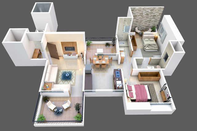 NBA Dhruv Siddhi, Pune - Floor Plan