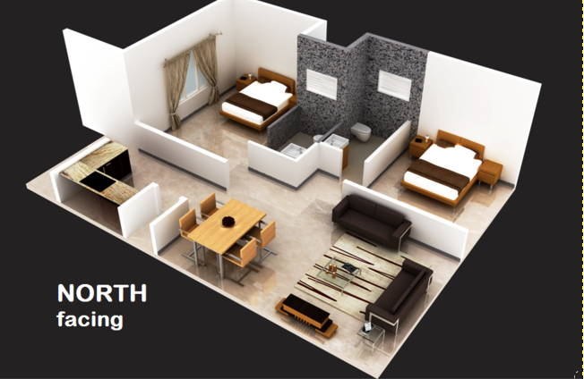 E Golden Abode, Bangalore - Floor Plan