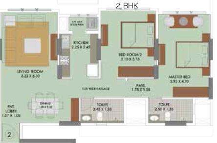 Runwal Elina, Mumbai - Floor Plan