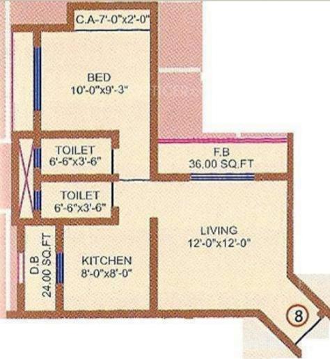 Swagat Heights, Mumbai - Floor Plan