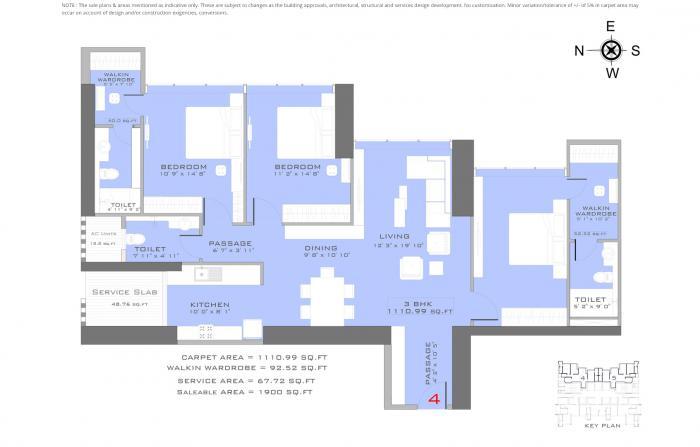 Ruparel Sea Palace, NaviMumbai - Floor Plan