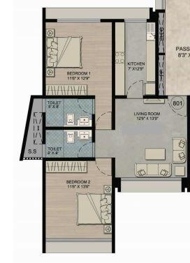 Prem Girija, Mumbai - Floor Plan