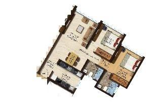 Acme Boulevard Tower 4, Mumbai - Floor Plan