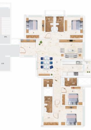 Satellite Glory, Mumbai - Floor Plan