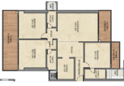 Shreepati Jewels Pearl And Diamond, Mumbai - Floor Plan