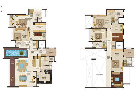 Peninsula Heights, Bangalore - Floor Plan