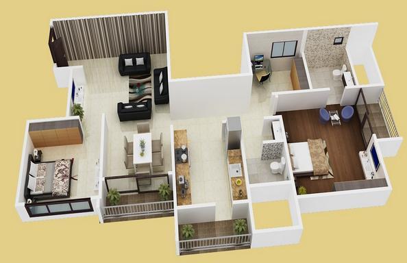 Oceanus Vista II, Bangalore - Floor Plan