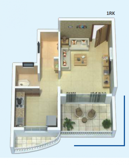 Udaan Aria, Mumbai - Floor Plan
