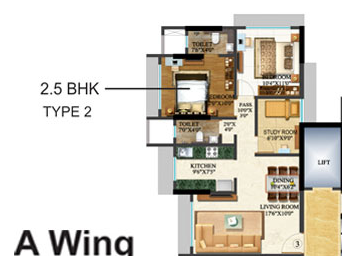 Sethia Kalpavruksh Heights, Mumbai - Floor Plan