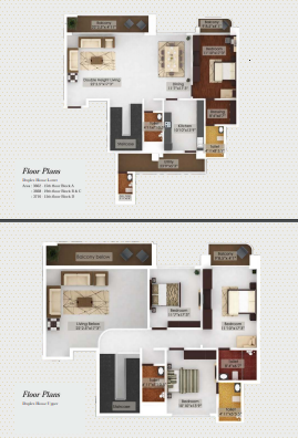 NorthernSky Alexandria, Mangalore - Floor Plan