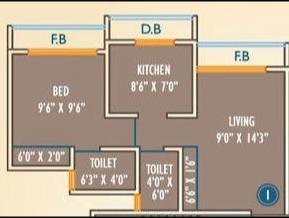 Viva Kingston Crown, Mumbai - Floor Plan