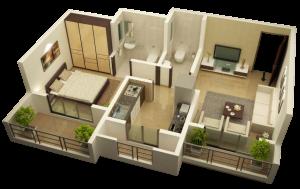 Raj Viva  Maitry Heights, Mumbai - Floor Plan