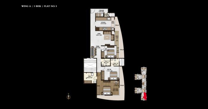 Joy Legend, Mumbai - Floor Plan