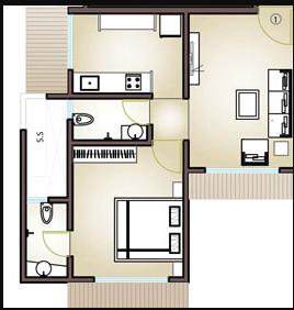 M.S.Mody Mickeys Enclave, Mumbai - Floor Plan