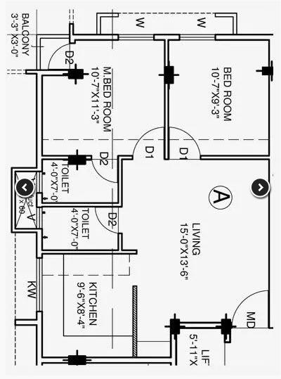 Victoria Saidhaan Richdale, Coimbatore - Floor Plan