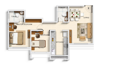 Dwarika Valley, Mumbai - Floor Plan
