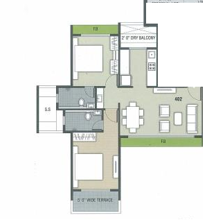 NG Grand Plaza, NaviMumbai - Floor Plan