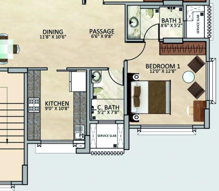 Tridhaatu Arista, Mumbai - Floor Plan
