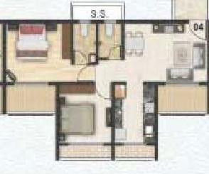 Kamdhenu Excelencia, NaviMumbai - Floor Plan