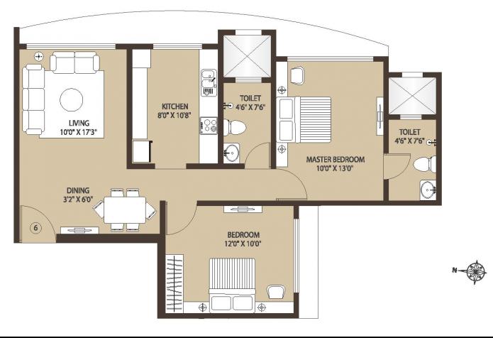 Kabra Centroid, Mumbai - Floor Plan