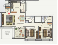 Kunal Iconia Phase II, Pune - Floor Plan