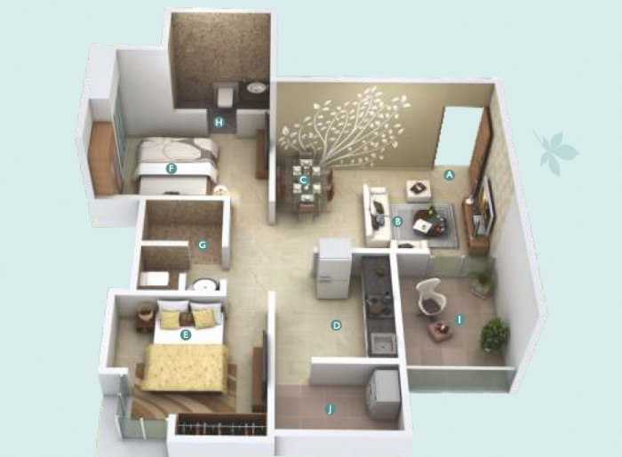 Legacy Tranquil Park, Pune - Floor Plan