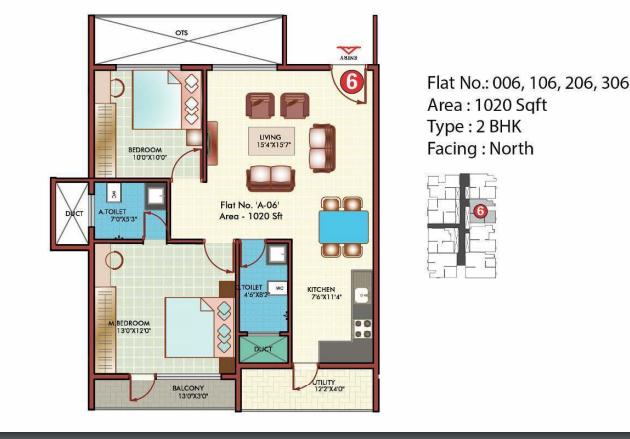 Aesthetics Arjun Grand, Bangalore - Floor Plan