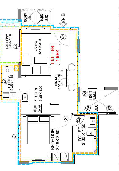 Esteem Emblem, Bangalore - Floor Plan