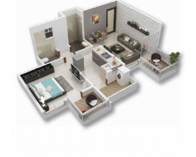 Mantra Divine, Pune - Floor Plan