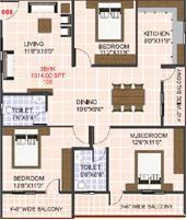 Alisha The Gallery, Bangalore - Floor Plan