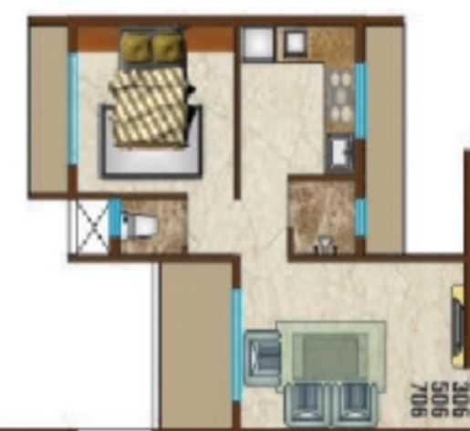 Balaji Sparsh, NaviMumbai - Floor Plan