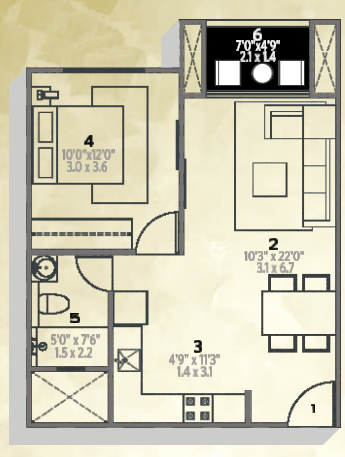 Hiranandani Glen Classic, Bangalore - Floor Plan
