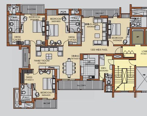 ATS Advantage, Ghaziabad - Floor Plan