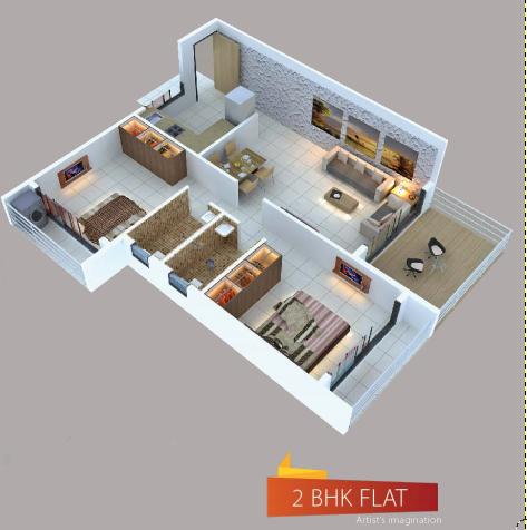 Sai Sarang, NaviMumbai - Floor Plan