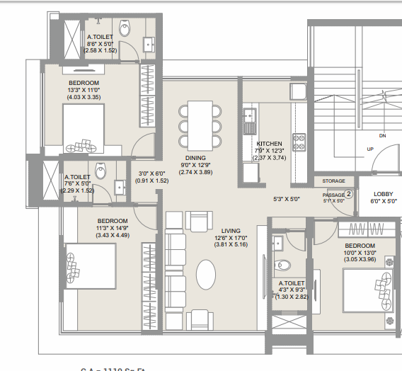 Chandak Ideal, Mumbai - Floor Plan