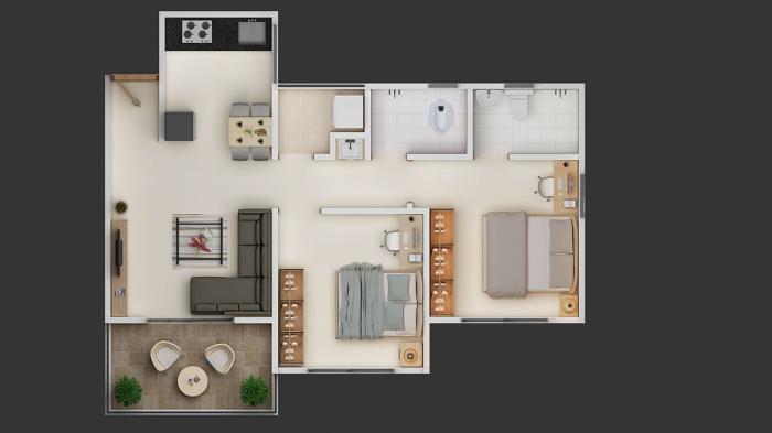 My Home Talegaon, Pune - Floor Plan