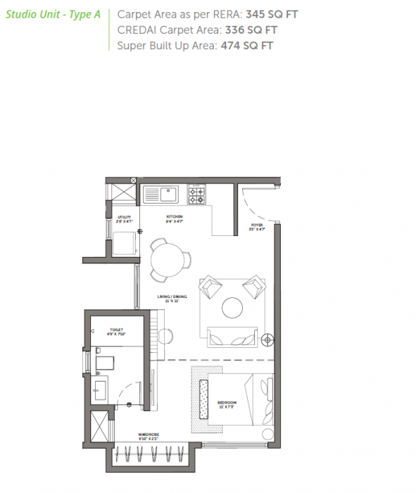Assetz 63 Degree East, Bangalore - Floor Plan