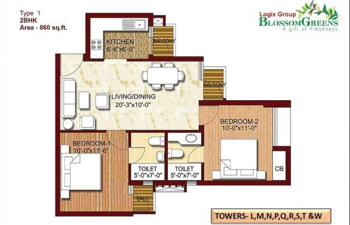 Logix Blossom Greens in Sector-143, Noida By Logix Group