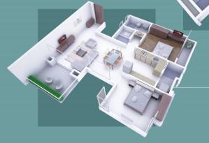 Shankar Meera Bhakti Residency, Kolhapur - Floor Plan