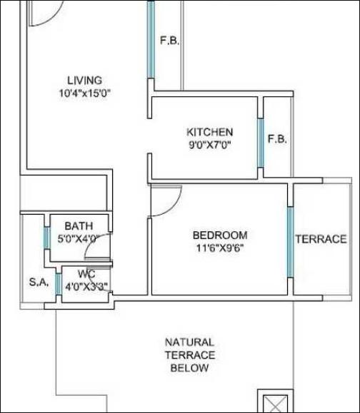 Shree Sawan Heritage, NaviMumbai - Floor Plan