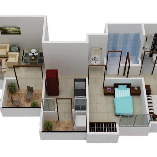 Shantama Narayans Octave, Pune - Floor Plan