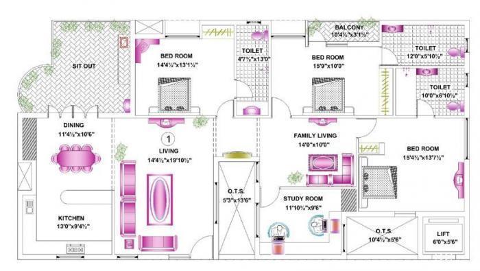Pace Prana, Chennai - Floor Plan