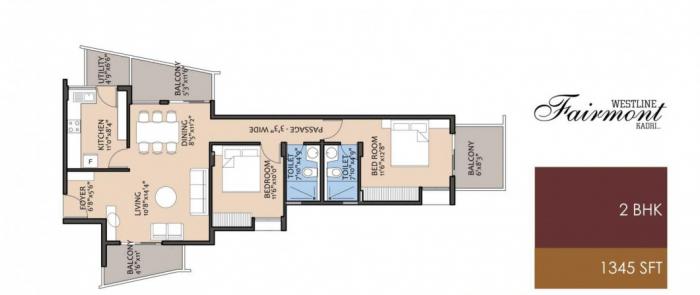 Westline Fairmont, Mangalore - Floor Plan