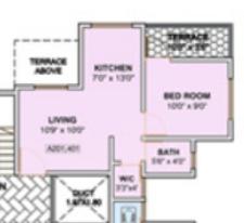 Arihant Wisdom County, Pune - Floor Plan