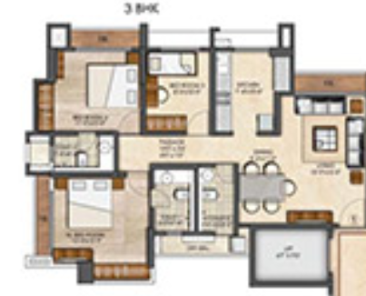 Runwal Garden City Dahlia, Thane - Floor Plan
