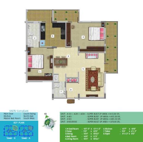 SRR Stone Creek, Bangalore - Floor Plan