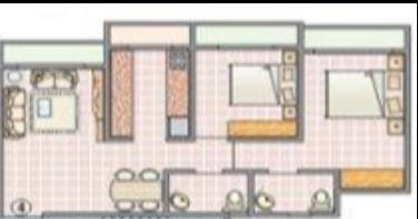 S R Surya Kriti Heights and Tower, Mumbai - Floor Plan