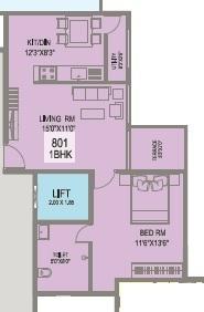 Viijcon Cellandine, Pune - Floor Plan