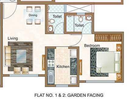 Sheth Vasant Oasis Phase I, Mumbai - Floor Plan